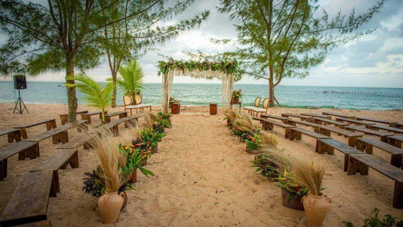 Casamento em Marau BA com a Pousada Canto do Sol